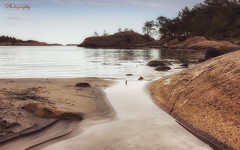 Storesand, Fevik - Norway (Øyvind Bjerkholt (Thanks for 51 million+ views)) Tags: sea beach nature water norway canon landscape sand rocks soft shoreline storesand skerries fevik