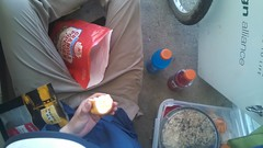 Lunch next to a 7-11