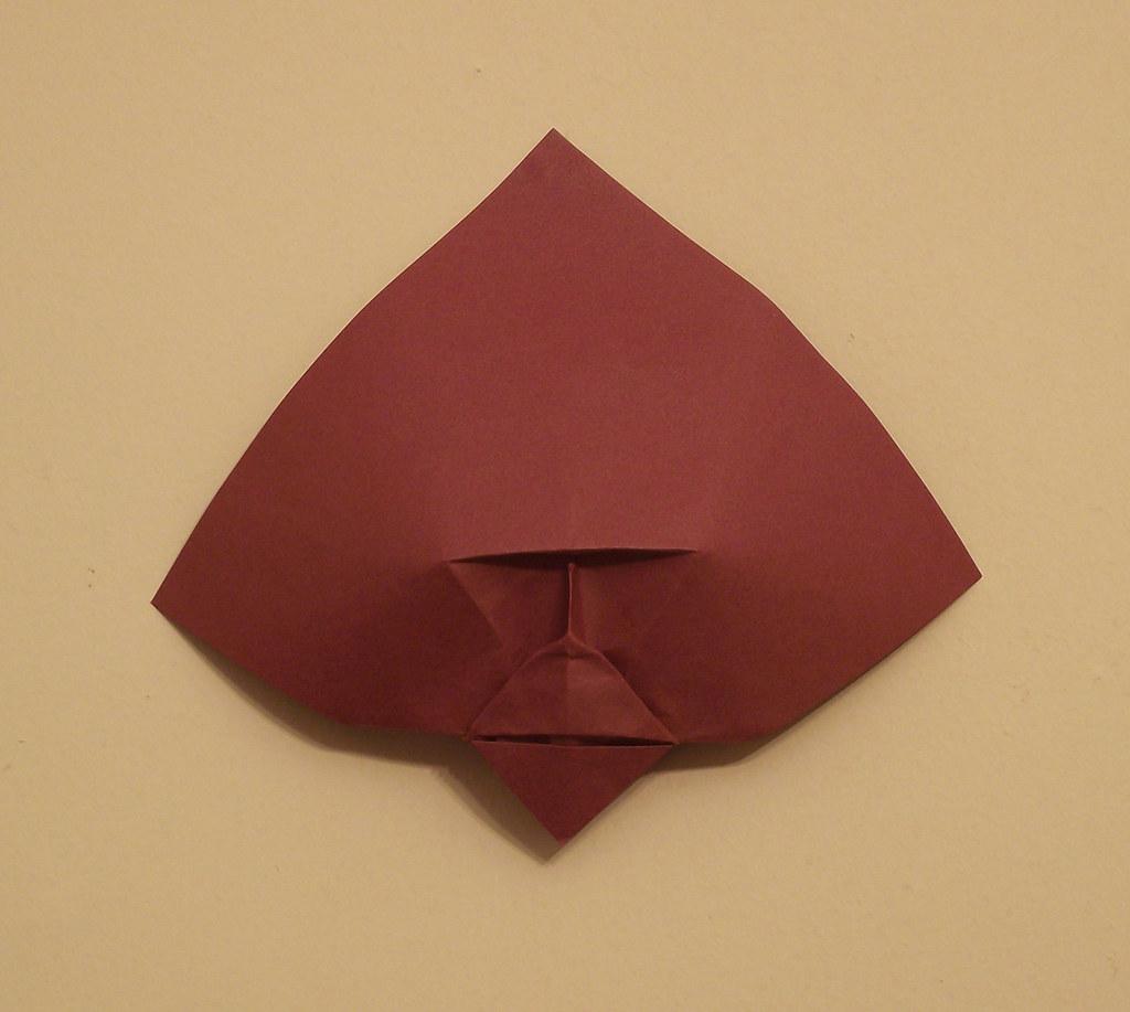 Simian Edg82 Tags Brown Man Face Paper Square Origami Mask Lock Human Ape