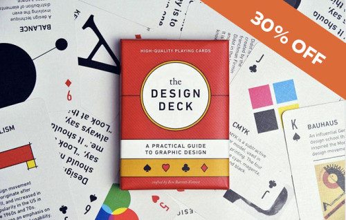 graphicdesignblg: 1 Week Only: The Design Deck: Playing Cards -.
