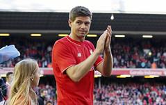FOOTBALL/ (mcmetha) Tags: liverpool unitedkingdom soccer gerrard farewell captain legend liverpoolfc 2015 stevengerrard sg8