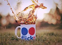 Coffee explosion! (Ali:18 (علي الطميحي)) Tags: coffee flickr splash فلكر قهوة سبلاش