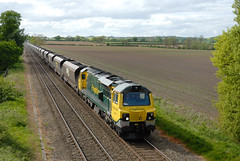 70-004-6M04-Ruckley-20-5-2015- (D1021) Tags: telford d200 coal shifnal freightliner nikond200 rugeleypowerstation 70004 class70 6m04 ruckley ruckleysidings