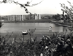 The Dam , Pendlebury 15th May 1980 (kersalflats) Tags: white black history manchester dam local 1980 1980s salford queensway swinton pendlebury