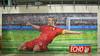 Steven Gerrard Wall (mobilevirgin) Tags: art liverpool painting football mural fuji capital echo stevengerrard xq1 tributewall