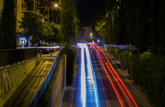 Luces 2 (jolurove) Tags: lighttrails light city street streetphotography motorway