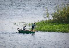 Aswan fishing (GEOLEO) Tags: river boat fishing egypt aswan