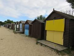 UK - Dorset - Studland - Beach huts (JulesFoto) Tags: uk england dorset clog centrallondonoutdoorgroup studland studlandpeninsula beachhuts