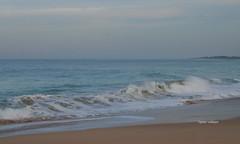10-070505 Spanien 3 165-001 (hemingwayfoto) Tags: andalusien atlantik brandung conildelafrontera europa horizont meer morgens radtour reise sand spanien strand wellen
