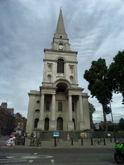 Christ Church (Avvie_) Tags: london whitechapel aldgate spitalfields christ church market fournier street ten bells pub jack ripper 1888 dorset mary kelly whites row crispin