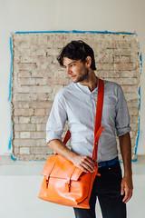 Jas M.B. Spring/ Summer 2017 ( www.ethanleephoto.com) Tags: bag leather man men fashion shoot nikon nikkor london uk portrait d4 2470mm f28e vr snap life travel wall box