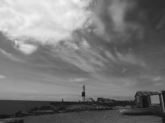clouds above the lighthouse (Johnson Cameraface) Tags: sea summer holiday june portland coast olympus dorset f28 portlandbill em1 2016 1240mm micro43 mzuiko johnsoncameraface omde1