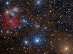 NGC2170 (Roberto Colombari) Tags: astrofotografia astrophotography deepsky stars nebulae monoceros dsw takahashi dust sky astrometrydotnet:id=nova1667055 astrometrydotnet:status=solved