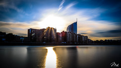 Sunset at the Boverie Parc (MHPhotography91) Tags: sunset sky skyline canon landscape golden crazy long exposure cityscape angle belgium wide filter hour nd parc 1740mm hdr liège 6d boverie mhphotography
