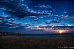 Florida Morning (DonMiller_ToGo) Tags: beachlife morning sharkys clouds thunderstorm lightning outdoors d5500 sky florida beachphotography seascapes