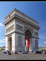 Paris Arc de Triomphe (Aviller71) Tags: paris france architecture architektur arcdetriomphe