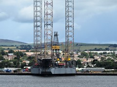 Somehow I don't think this was named after a person. (sheumais63) Tags: oil rig river tay dundee angus fife scotland