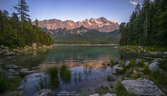 Summer evening at Eibsee N3 (Bernhard_Thum) Tags: alps nature nationalgeographic eibsee zugspitze carlzeiss zm thum leicam elitephotography landscapesdreams daarklands distagont2815 bernhardthum distagon1528zm