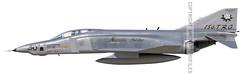 RF-4C Phantom, 153rd TRS, 1989 (aircraftprofiles.net) Tags: rf4c phantom 153rdtrs aviation aircraft spook usaf aircraftprofilesnet