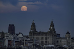 Liverpool Waterfront (ianandbarbara.bonnell@btinternet.com) Tags: uk england sky water skyline liverpool river cityscape waterfront mersey pierhead merseyside liverbuilding