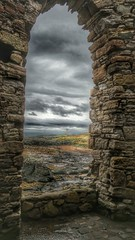 Through the arch window (kevinmcnair) Tags: scotland fife elieandearlsferry elie firthofforth riverforth rubycoast ladystower folly fifebeaches elienesslighthouse lighthouse