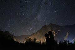 Love (pochosilvao) Tags: stars estrellas night de cordilleradelosandes cordillera termas termaselflaco nature love sombra contraste mountain