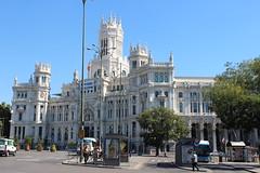 Cybele Palace City Hall Plaza De Cibeles Madrid (Buster&Bubby) Tags: madrid spain culinarytour culinarytourofmadrid cybele palace city hall plaza de cibeles