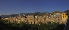 Sant'Agata de' Goti (Franco Santangelo (thx for 700.000+ views)) Tags: italy panoramic ancient canon sigma eos600d landscape skyscape