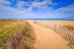 En chemin pour la barre d'Etel (Stphane Gavoye) Tags: sable barredetel plage mer erdeven bretagne france fr