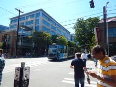 Around Seattle: South Lake Union (Seattle Department of Transportation) Tags: seattle sdot transportation slu southlakeunion amazon streetcar crosswalk pedestrians