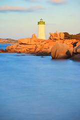 IMG_4805 (foment) Tags: sardinia ligthouse landscape sea sunset rocks italy