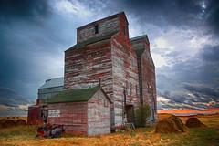 """Trouble on the way""-Abandoned North Dakota (j_piepkorn65) Tags: abandoned abandonednorthdakota northdakota elevator grainelevator arena ghosttown"