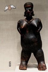 Primal Urge: Sloth (Craig Walkowicz) Tags: sculpture statue figure clay ceramic mythological primitive dark mysterious female nayarit sloth sevendeadlysins ccw