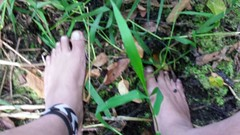 photo_2016-08-09_20-54-42 (bfe2012) Tags: barefoot barefeet barefooting barefooted barefooter boy barefoothiking baresoles barefoothiker barfuss feet freedom forest foot lifestyle barefootlifestyle muddyfeet dirtyfeet indian dirty nature toes tough toughsoles grass hiking soles shoes swamp muddy marshland marsh myshoes woodland woods hiker