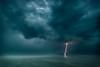 Lightning on Lake Geneva - apocalyptic (kichetof) Tags: éclairs lightning orages lacléman genevalake