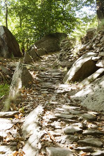 Sentiero sul Monte Bracco per Balma Boves.