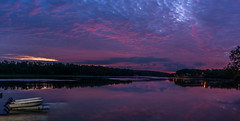Ribs of Heaven pano (johnjmurphyiii) Tags: 06457 clouds connecticut connecticutriver dawn harborpark middletown moon originalnef sky summer sunrise tamron18270 usa johnjmurphyiii cloudsstormssunsetssunrises cloudscape weather nature cloud watching photography photographic photos day theme light dramatic outdoor color colour pano panorama stitch