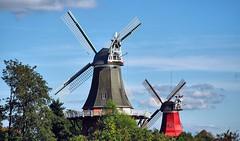 Greetings from Greetsiel (II)  [Explored Sep 21, 2016] (G_E_R_D) Tags: greetsiel windmühlen zwillingsmühlen zwillingswindmühlen windmills twinwindmills ostfriesland eastfrisia niedersachsen deutschland germany nordsee northsea