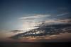 Goodbye sunset [Bali, Indonesia] (Melvinia_) Tags: ocean travel blue light sunset sea bali nature clouds skyscape indonesia temple pacific lumière bleu nuages coucherdesoleil océan pacifique indonésie canoneos450d digitalrebelxsi