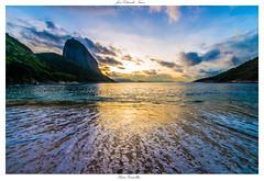 Embracing the sea | @Praia Vermelha, #RiodeJaneiro | #Brazil | #Sunrise (Jos Eduardo Nucci) Tags: cidade brazil sol praia beach nature rio brasil sunrise cores landscape photography dawn nikon paisagem sugarloaf maravilhosa fotografia nikkor podeaucar amanhecer urca bondinho d800 nascente 2016
