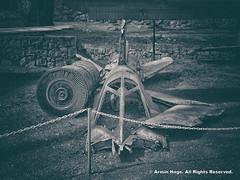 A Destroyed Iraqi Fighter Jet (Armin Hage) Tags: iran tehran mig saadabad  militarymuseum iraniraqwar arminhage militarymuseumofiran
