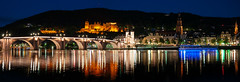 Heidelberg at night (vd1966) Tags: bridge castle lights licht heidelberg schloss spiegelung neckar bruecke altebrcke bestcapturesaoi elitegalleryaoi