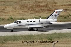 HB-VWZ LMML 07-05-2015 (Burmarrad) Tags: cn private aircraft airline mustang 510 registration cessna citation lmml hbvwz 5100341 07052015