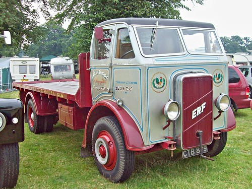 456 ERF Model CI6 Flatbed (1937)