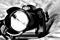 Nikon D2Hs B&W (thejtype) Tags: camera lens nikon duty professional electronics nikkor dslr heavy 50mmf18 1870mmf3545 d2hs lbcast