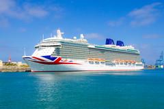 Britannia (Reg Goodrum) Tags: cruise holidays ship ships cruising po canaryislands cruiseships pocruises