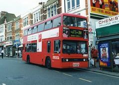 T818 (Sparegang) Tags: t818 ryk818y tclass leylandtitan t stagecoachselkent selkent londonbuses bromley stagecoachlondonlondon1999 1999