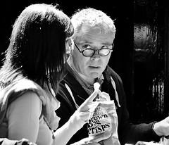 No, I Don't Want One !   [Explored # 410] (jaykay72) Tags: street uk blackandwhite bw london candid streetphotography londonist nationalgallerycafe stphotographia
