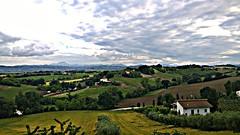Jesi (alericci77) Tags: travel italy cloud nature clouds montagne landscape marche regionemarche