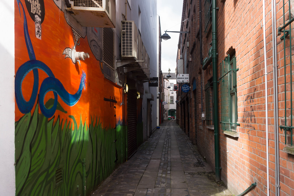 Street Art In Belfast [May 2015] REF-104680